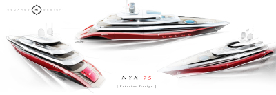 Introducing  N Y X - 75 m Superyacht