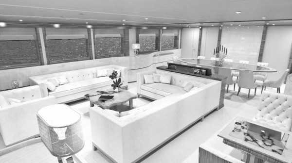 45 meter, superyacht, luxury, SquaredMK, interior design, interiors
