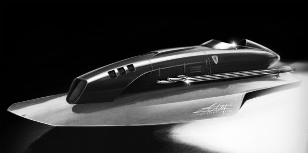 volante, ferrari, concept, design, speed form, yacht design